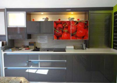 Cocina con Vinilo en Exposición