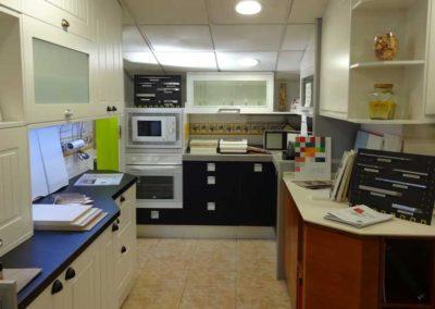 Cocina y Muestrarios en Exposición