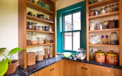 Espacios de almacenaje útiles para tu cocina