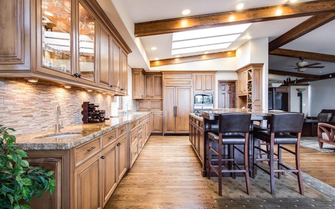 Tipos de madera para los muebles de la cocina