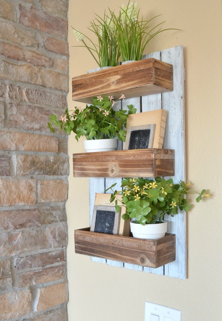 caja madera maceteros