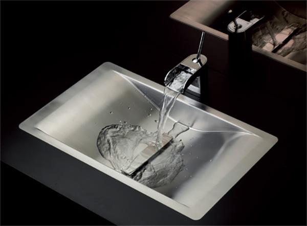 lavabos de metal
