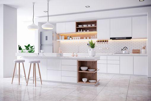 Cocinas blancas: ventajas y desventajas